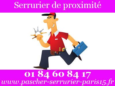 serrurier Paris 15 de Proximité